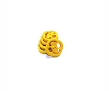Подушка підвіски глушника ВАЗ 2108 (жовта) 2 шт. 17-08-119 А443 VTULKA