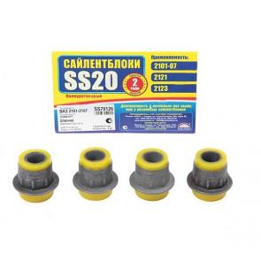 Сайлентблок нижнего рычага 2101 SS20 (желтый) 4шт   70127