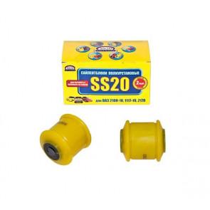 Сайлентблок заднего рычага ВАЗ 2108-21099, 2110-2114, 1117-1119 Калина, 2170 Приора, 2190-2194 Гранта SS20 (желтый) в упаковке 2 шт 70111