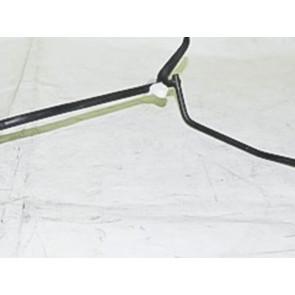 Вал приводу акселератора ВАЗ 2103 в зборі з кронштейнами (педаль газу) ТЗТО