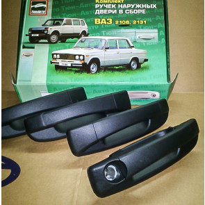 Евроручки наружные ВАЗ 2101, 2103, 2106 комплект 4 шт. Тольятти