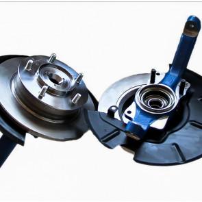 Ступичный узел ВАЗ 2121 (22 шлица) комплект с тормозными дисками в сборе