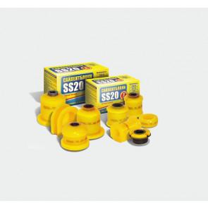 Опоры рулевой рейки 2108-2115, 2110  с/о, SS20 (полиуретан, желтые) 2шт   70106