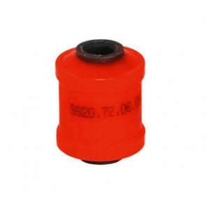 Сайлентблок нижнего рычага 2108 SS20 (красный) 2шт   70114