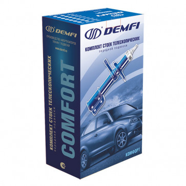 Стойки передней подвески ВАЗ 1117, 1119 DEMFI (комфорт, газомасляные) л/п