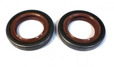Сальник привода переднего колеса ВАЗ 2108-21099 левый 35x57x9мм красный БРТ