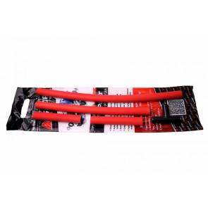 Патрубки печки силиконовые ВАЗ 2110-2112, комплект с пластиковым тройником - A-Sport