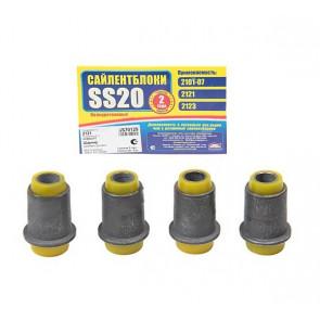 Сайлентблок нижнего рычага 2121 SS20  (желтый) 4шт   70129