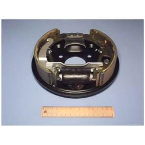Тормоз задний ВАЗ 1118 в сб. лев* (2 колодки, цилиндр, опорный диск)